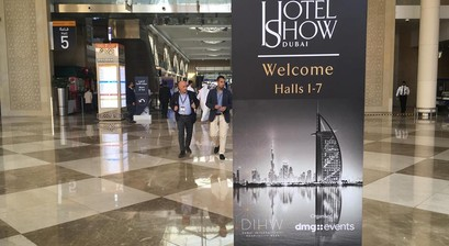Images from 100% Hotel Show's participation in The Hotel Show Dubai and the Greek fair's International perspectives